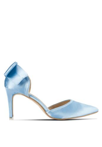 後蝴蝶結側鏤空高跟鞋,esprit衣服目錄 女鞋, 鞋