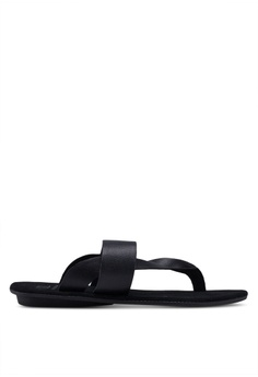 f6ffe1d4051 Carlton London black Slip On Sandals F6BBFSH1A54C73GS 1