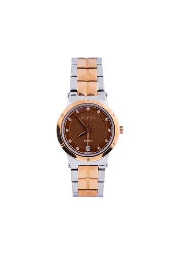 Bonia silver Bonia Rosso BR129-2647 - Jam Tangan Wanita - Silver Rosegold 46EE7ACF609BD7GS_1