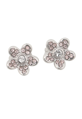 Marc Jacobs silver Marc Jacobs Flower Studs Earring Silver M0012401 097B5ACBF783F7GS_1