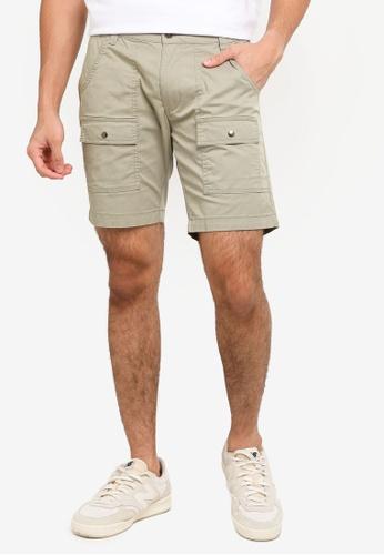 SPARROW GREEN green COR Shorts 1130CAA45448F6GS_1