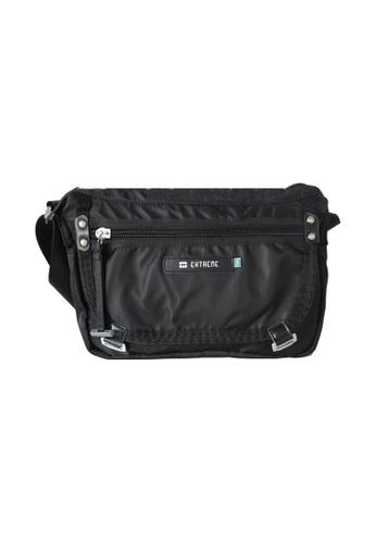 EXTREME black Extreme Tactical Sling Bag Lightweight Nylon Crossbody Black iPad Mini 90315ACFC76DC1GS_1
