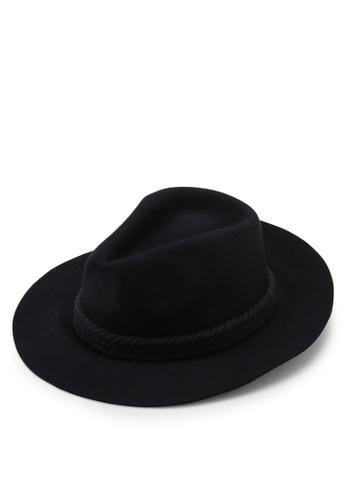 Billabong 黑色 Roped In 毛氈 Hat B0376AC7C32DCCGS_1