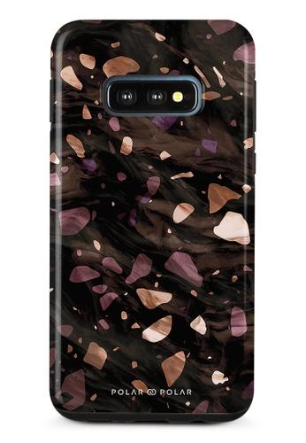 Polar Polar brown Eminence Terrazzo Gem Dual-Layer Tough Case Glossy For Samsung Galaxy S10E A7418AC883C6FDGS_1