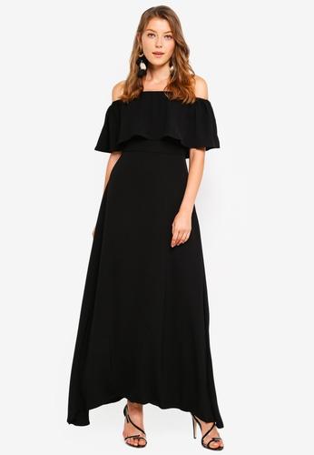 e9db3ffe634 Buy Preen   Proper Off Shoulder Maxi Dress