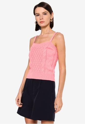 Vero Moda pink Rachel Strap Top EDF8AAA65DF2C3GS_1
