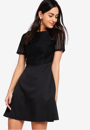 ZALORA black Fit And Flare Dress C52B2AAA76228DGS_1