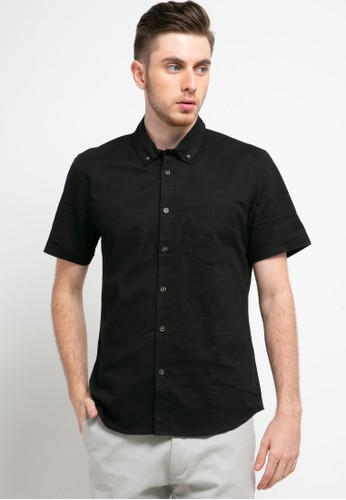Men's Top black CARSON - BLACK Shirt CFEF6AA96B8436GS_1