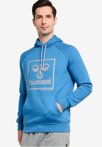 Hummel blue Isam Hoodie 41596AA05B7C70GS_1