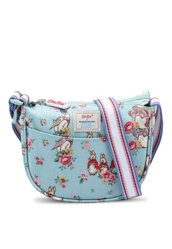Cath Kidston green Beatrix Potter Kids Half Moon Sling Bag 6A5B9KCEF8F53CGS_1