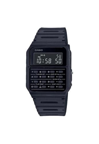 Casio black CASIO GENERAL CA-53WF-1BDF DATA BANK UNISEX WATCH C44C9ACA670C3FGS_1