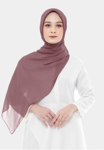 Jual Zelena Hijab Pashmina Tali Mentari Instan Rosewood Original Zalora Indonesia