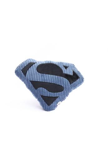 DC Comics Superman Corduroy Cushion AE850HL33C10A7GS_1
