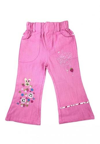 Modernform International pink Kids Pinkish Girls Jeans Pants (F20) 96FC3KAA58284AGS_1