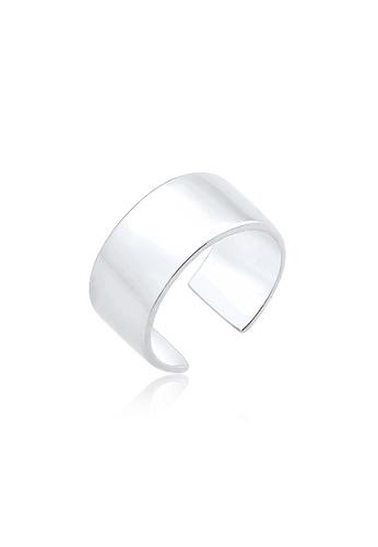 Elli Germany silver Single Ear Cuff EL474AC0RFI4MY_1