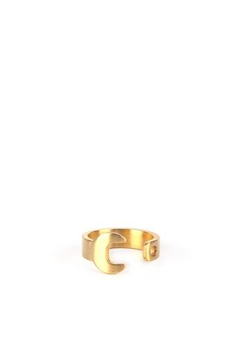 HAPPY FRIDAYS Titanium Steel Spanner Ring DW0060 20495AC7347E68GS_1
