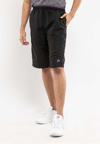 FOREST black Forest Elastic Short Pants - 65699-017Black/Purple BCCFCAAAA46635GS_1
