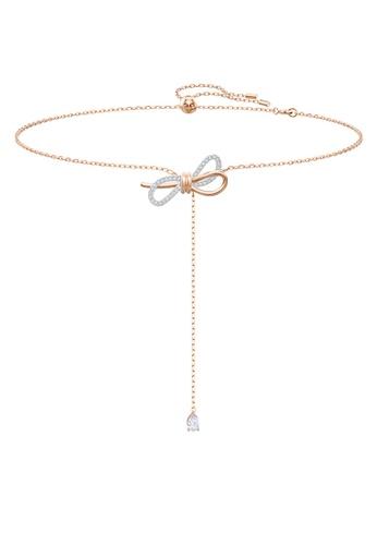 SWAROVSKI multi Lifelong Bow Necklace Y Necklace 30B14ACEF95AF7GS_1