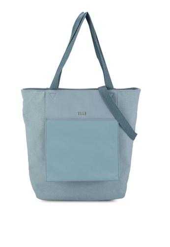 ELLE blue Esme Shopper Bag F62F6AC73FC6E5GS_1