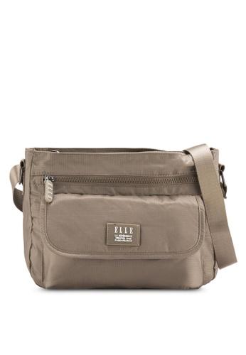 ELLE brown Herene Bag EL900AC23WYMMY_1