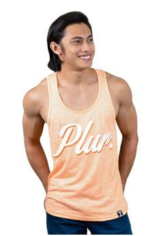 FEF Clothing PLUR Orange Tank Top