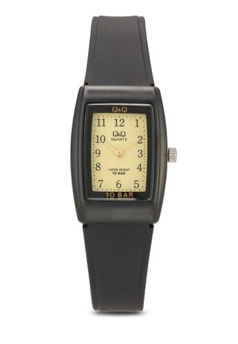 VP31J001esprit 旺角Y 數字顯示橡膠方錶, 錶類, 飾品配件