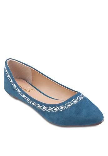 Diamante Fesprit outlet 香港lats, 女鞋, 芭蕾平底鞋