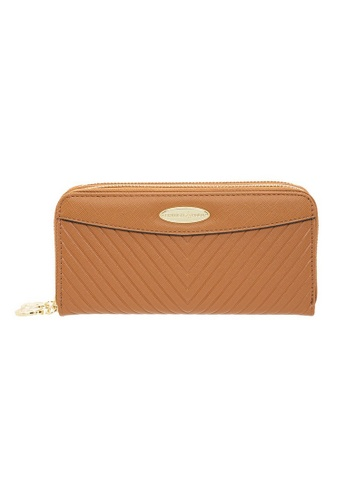 British Polo brown British Polo Dwyne Double Zipper Wallet 07D6DAC76A5270GS_1