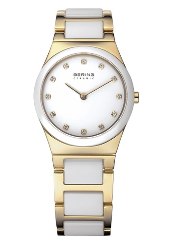 Bering gold Ceramic 32230-751 White 30 mm Women's Watch 6E388AC73DA1FCGS_1