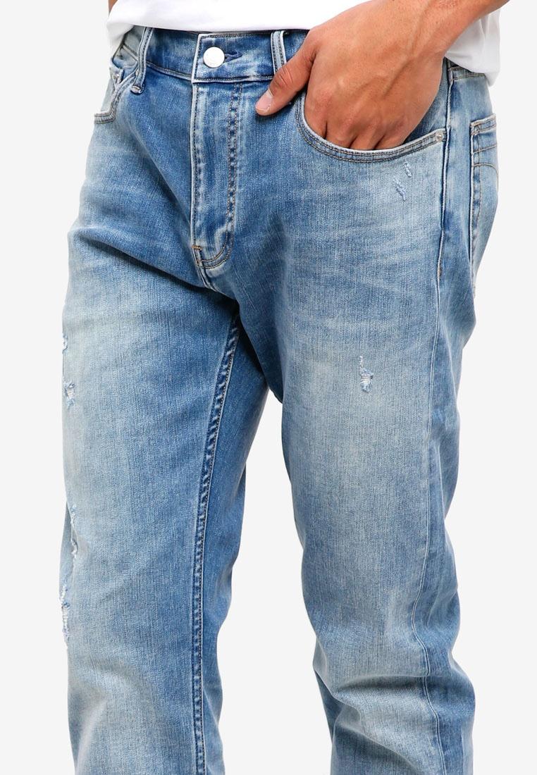 Calvin 026 Slim Jeans Blue Klein Calvin Jeans Klein Fraser pwX6qFw