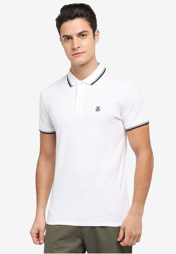 Selected Homme white New Season Polo Shirt 5770EAA40E451FGS_1