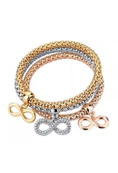 Infinity Charm Bracelet by ZUMQA
