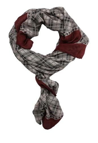 格紋圍巾,esprit地址 飾品配件, 飾品配件