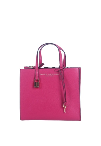 Marc Jacobs purple Marc Jacobs The Grind M0015684 Tote Bag In Deep Purple 8B928ACC7DB023GS_1