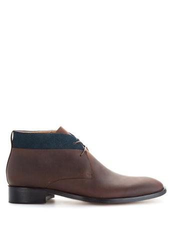 Bristol Shoes brown Maxfield Brown Chukka 87F5BSHE17ECD3GS_1