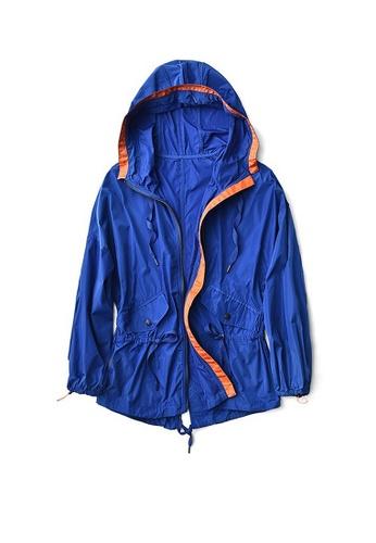 Twenty Eight Shoes blue VANSA Mid-Length Style Wind Jacket VCW-T50 88A5DAA5444EFDGS_1