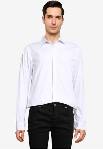 High Cultured white Long Sleeve Shirt - 66 0CB91AA88DC1D7GS_1