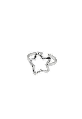 LYCKA silver LDR1330 S925 Silver Cute Stars Ring 124E8AC8B81997GS_1