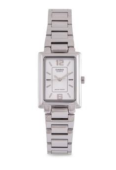 【ZALORA】 Casio LTP-1238D-7ADF 不銹鋼錶