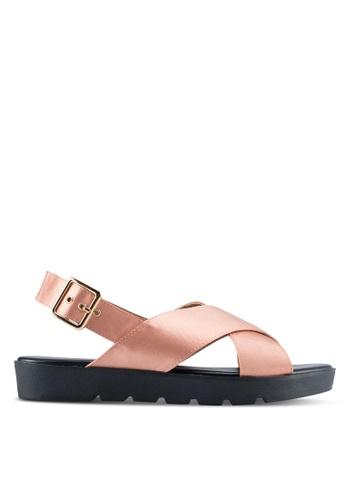 VINCCI gold Strappy Sandals DECD6SH577C9A2GS_1