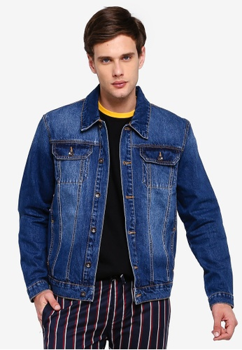 new arrival 9abda 5214a Indigo Denim Jacket