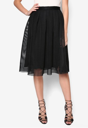 Airtopshop hktex Prom Midi Skirt, 服飾, 及膝裙