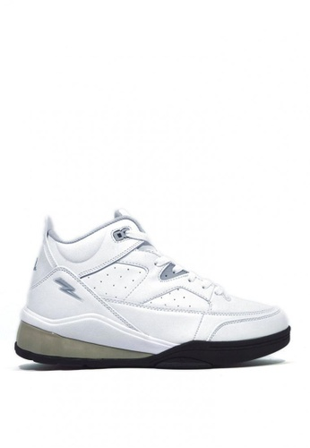 ACCEL black and grey and white Explode Basket Ball Shoes C9C54SHA44BC3AGS_1
