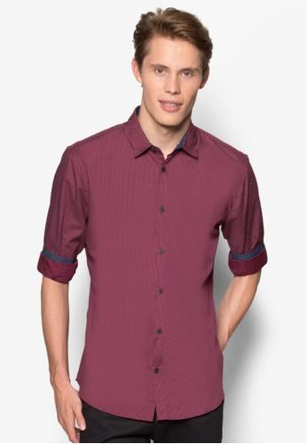點點印花長袖襯衫、 服飾、 服飾CottonOn點點印花長袖襯衫最新折價
