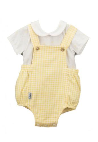 RAISING LITTLE white and yellow Alex Outfit Set 815D1KA5945CB9GS_1