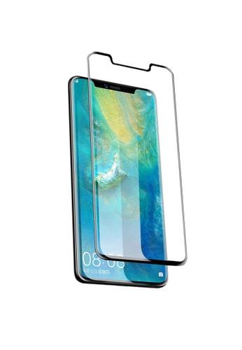 MobileHub black Huawei Mate 20 Pro Full Screen Tempered Glass Screen Protector 2CBAEACB06784EGS_1