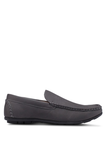 Bata grey Slide-On Loafers 1172CSH48B87A8GS_1