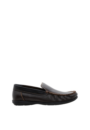 SEMBONIA brown SEMBONIA Men Nappa Leather Loafer (Dark Brown) 3FF61SH74693B8GS_1