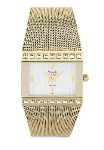 Alexandre Christie gold Alexandre Christie Jam Tangan Wanita - Gold - Stainless Steel - 2561 Gold AL709AC0UGLKID_1