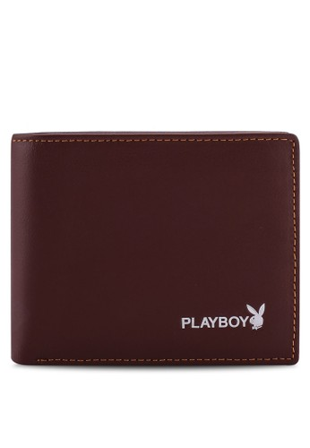 Playboy brown Bifold Wallet 22362AC9BE7277GS_1